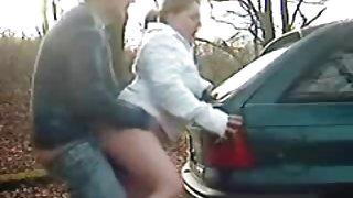 Het stoppen van de auto neuken
