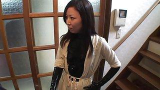 Japanse latex catsuit 87