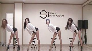 Dochters van oost-azië - zuid-koreaanse dans troup (i)
