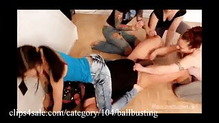 De beste bal busting op clips4sale.com