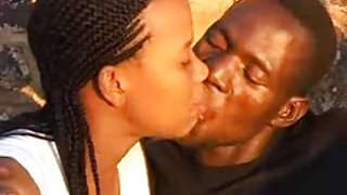 Het echte afrikaanse amateur 2