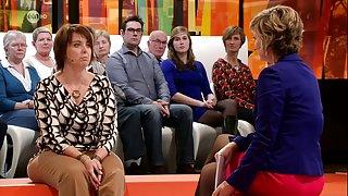 De belgische televisie gastvrouw prachtige benen