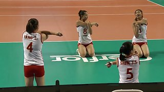 Volleybal stretching 2