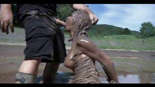 Buiten bdsm modder slaaf schande