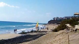Nudisten strand van fuerteventura 2013