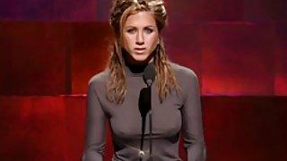 Jennifer aniston met harde tepels