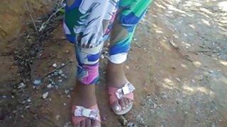 Hete seks buiten het dorp (brazilië)