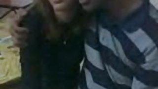 Indiase echtpaar op webcam
