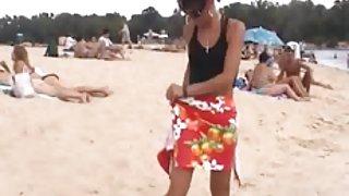 Franse strand - voyeur paradijs