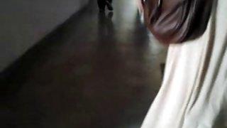 Hete tiener doorzichtige rok thong mooie kont deel 2 van 2